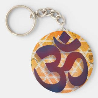 Om Key Ring