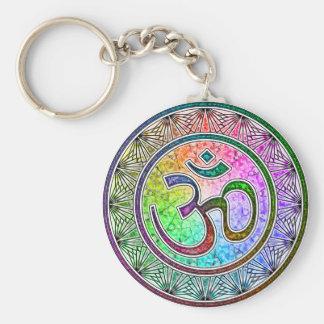 OM-mandala Key Ring