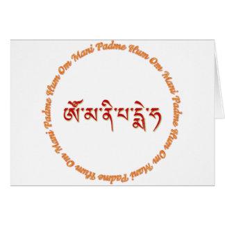 Om Mani Padme Hum 02 Cards