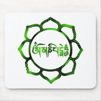 om mani padme hum-2 mouse pads