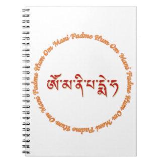 Om Mani Padme Hum 2 Notebook