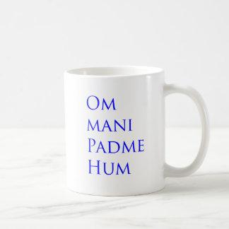Om Mani Padme Hum Basic White Mug