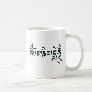 Om Mani Padme Hum III Basic White Mug