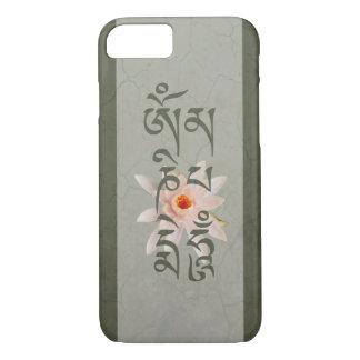 Om Mani Padme Hum Lotus - Blue-Green iPhone 8/7 Case