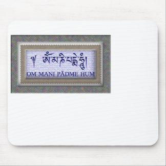 Om Mani Padme Hum Mouse Pads