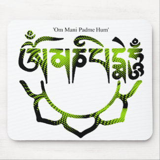 om mani padme hum mouse pads