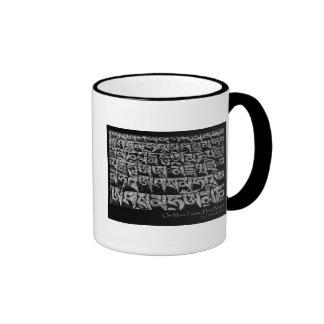 om-mani-padme-hum ringer coffee mug