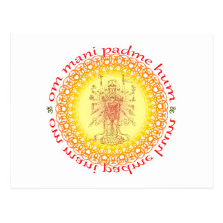 Om mani padme hum post cards