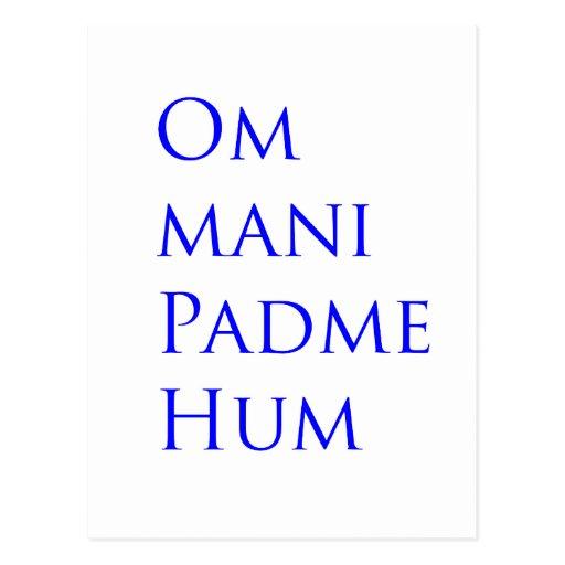 Om Mani Padme Hum Postcards