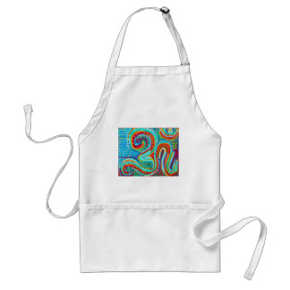 OM Mantra - 108 Times Adult Apron