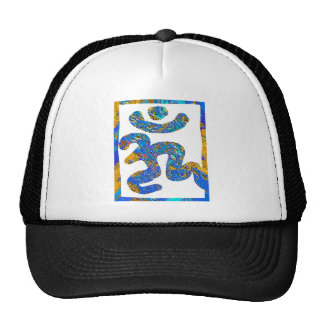 Om  Mantra for peace Mesh Hats