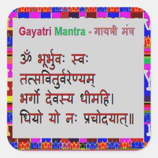 Om Mantra Gayatri Mantra Stickers