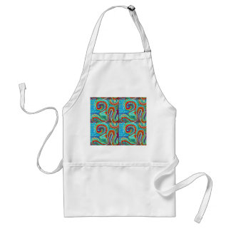 OM MANTRA Infinity - Display Meditate Chant Yoga Standard Apron