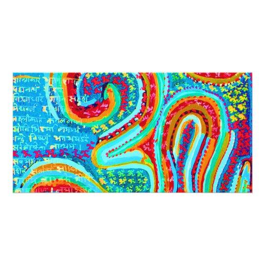 OM Mantra Om108 Card