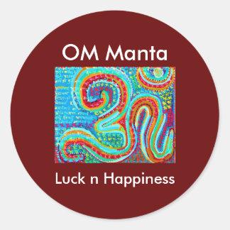OM Mantra Om108 Stickers