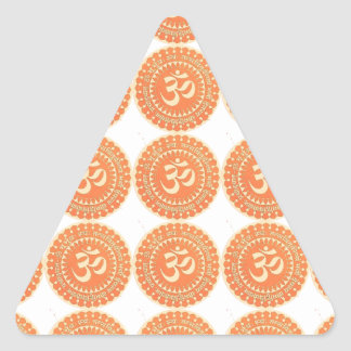 OM MANTRA -  OmMantra ALL OVER - DEDICATION Triangle Sticker