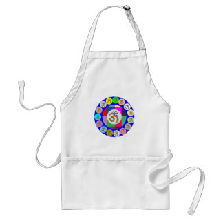 OM MANTRA OmMantra Chant Art Collection Standard Apron