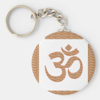 OM MANTRA OmMANTRA Chant Display Heal Peace Keychains