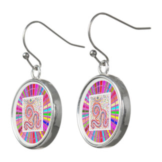 OM Mantra OMmantra Hinduism Religion Healing Earrings