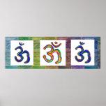 Om Mantra OmMantra Squares Print
