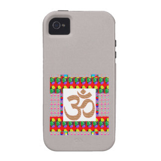 OM Mantra OmMANTRA Yoga Meditation Symbol Hinduism iPhone 4/4S Covers