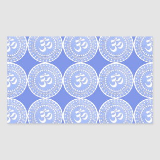 OM Mantra Symbol : OMMANTRA Rectangle Stickers