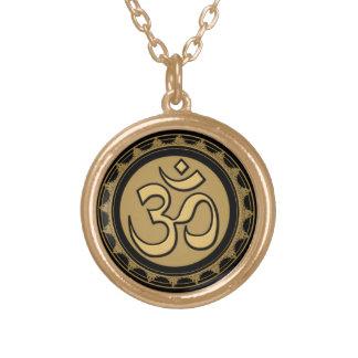 Om Meditation Necklace