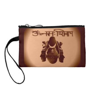 Om Nama Shivay2 Coin Bagettes Bag Coin Purses