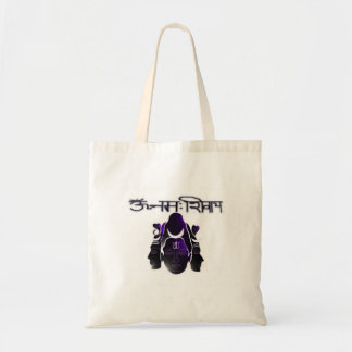 Om Nama Shivay Budget Tote Bag