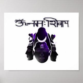 OM Nama Shivay Poster