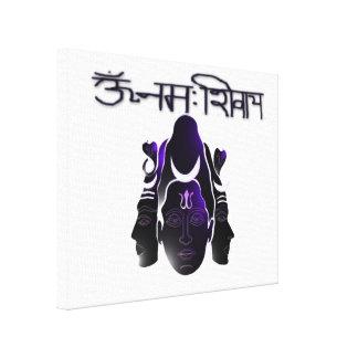 Om Nama Shivay Stretched Canvas Print