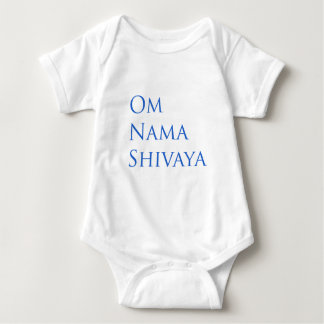 Om Nama Shivaya Baby Bodysuit