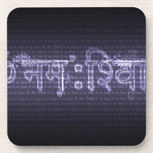 Om Nama Shivaya Drink Coasters