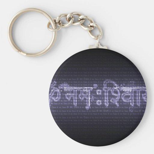 Om Nama Shivaya Keychain