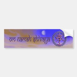 Om Namah Shivaya bumper sticker