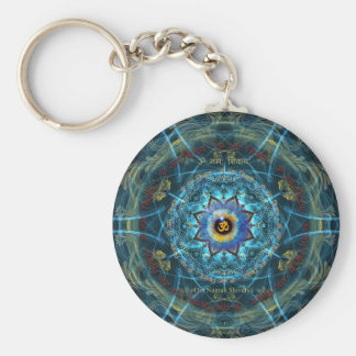 """Om Namah Shivaya""- The True Identity- Yourself Key Ring"