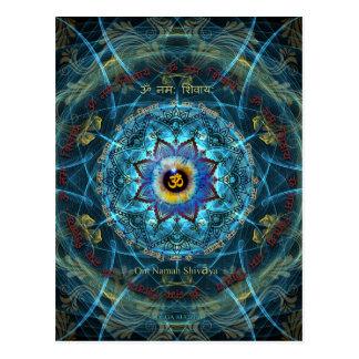 """Om Namah Shivaya""- The True Identity- Yourself Postcard"