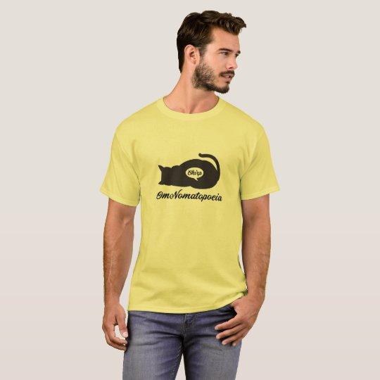 Om nom, cat eats the bird T-Shirt