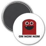 Om Nom Nom Cutie Magnet