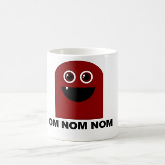 Om Nom Nom Cutie Coffee Mugs