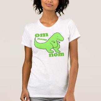 om nom nom dinosaur eats T-Shirt