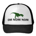 Om Nom Nom Dinosaur Rawr trucker Cap