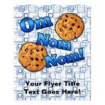 Om Nom Nom, Meme Love Cookies 11.5 Cm X 14 Cm Flyer