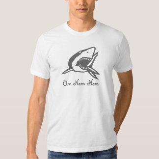 Om Nom Nom Shark Shirt