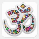 Om Ohm Aum Namaste Yoga Symbol