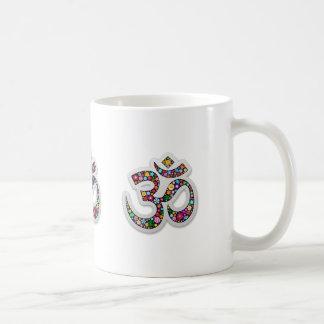 Om Ohm Aum Namaste Yoga Symbol Classic White Coffee Mug