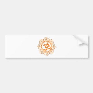 Om - Ohm - Aum Symbol Bumper Sticker