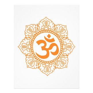 Om - Ohm - Aum Symbol Flyer