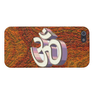 Om , omh namh Hindu Religious Symbol of Peace iPhone 5 Cover