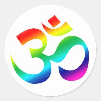 OM Rainbow - sticker